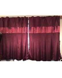 Next plum curtains