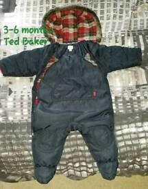Ted Baker snowsuit 3-6 months
