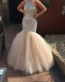 Evening . Wedding .prom gown