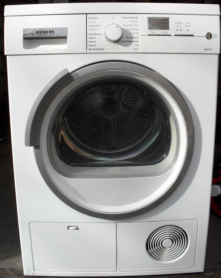 8kg Load Siemens Iq500 Condenser Tumble Dryer For Sale In