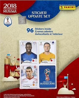 Panini World Cup 2018  Update Set  96 Stickers