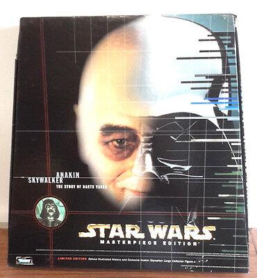 "1998 Star Wars Anakin Skywalker Masterpiece Edition 13"" Figure & Hardcover Book"