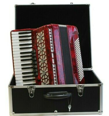 Accordion 120 Bass 41 Treble With Hardshell Case