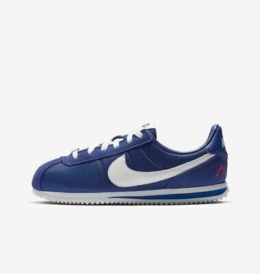 Nike Cortez Basic (GS) Los Angeles CI9957-400 Royal Blue White Youth Kid's Shoes