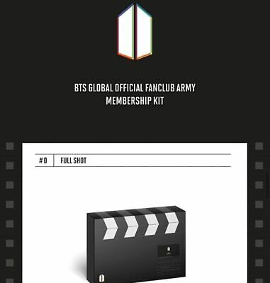 BTS 6th Army Global Official Fanclub Membership Kit/ Sealed / Tracking No + Gift