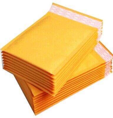 JOBLOT 25 x Mail GOLD BUBBLE ENVELOPES BAGS POSTAL POST WRAP LARGE 260 x 345mm