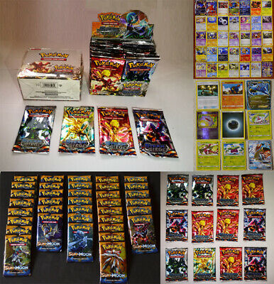 324PCS POKEMON Collectible Card Games New Pokémon Individual Cards UK Version