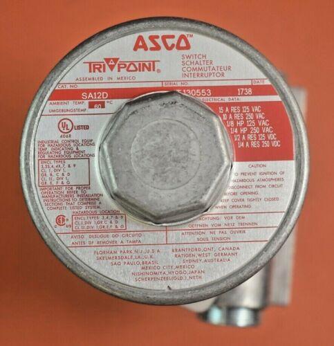 ASCO TRI POINT SA12D Switch