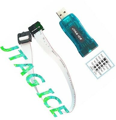 1pcs Avr Usb Emulator Debugger Programmer Jtag Ice For Atmel New L