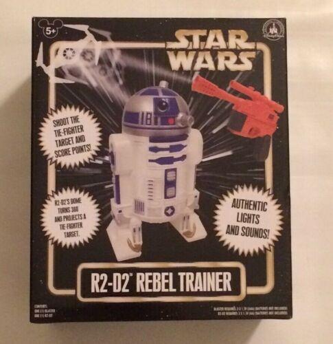 NIB Disney Parks Star Wars R2-D2 Rebel Trainer with Blaster Toy