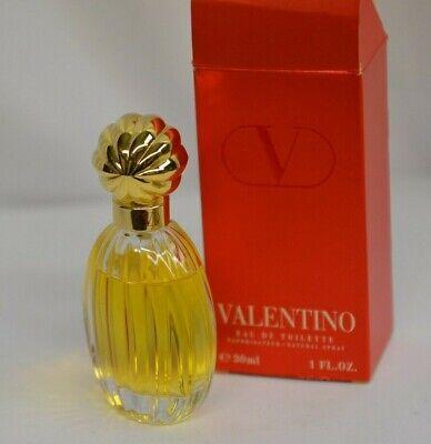 Used, Valentino Red V Eau de Toilett 1 Fl Oz/30 ml Perfume Splash France Discontinued for sale  Watertown
