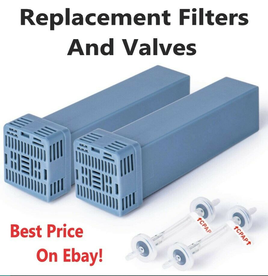 CPAP Replacement Filters & Valves, Fits Soclean 2, New, 2,4,