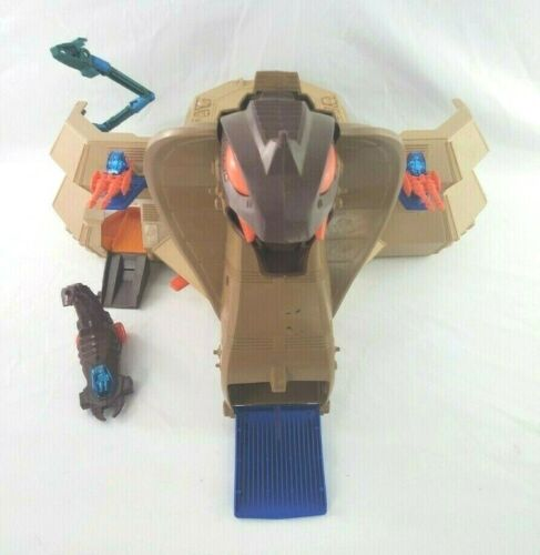 Vintage Starriors Cobra Armored Battle Station Playset TOMY with Scorpion 1984