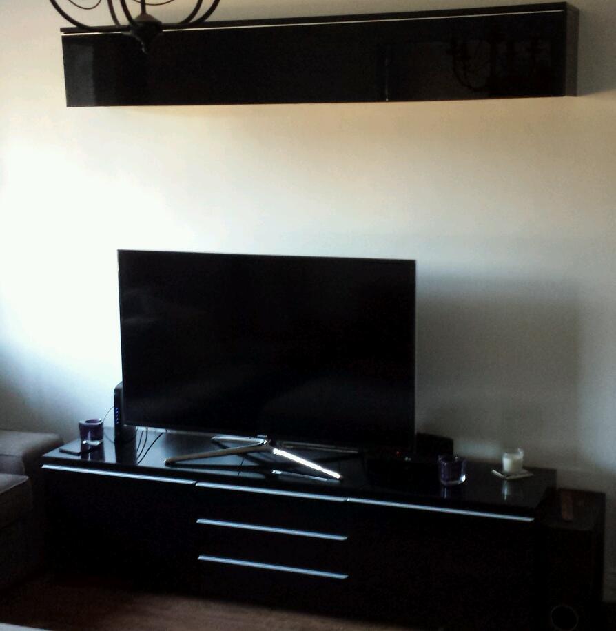 Ikea High Gloss tv Unit Ikea Besta Burs Gloss Black tv