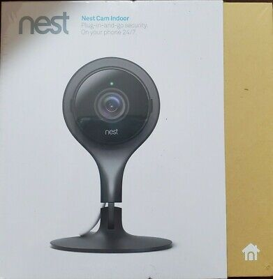 Nest Camera Cam Indoor Plug and Go Home Security Cam NC1102ES Brand New Sealed