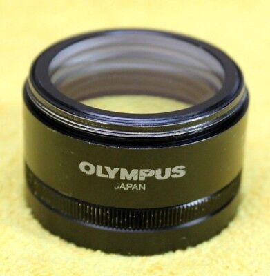 Olympus 0.3x Wd250-350 Auxiliary Objective For Sz Series Microscope 110
