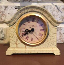 Howard Miller Delano Mantel/tabletop Clock Tuscany Antique Crackle #645-410