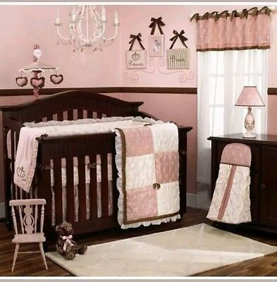 (CoCalo Daniella Luxury Infant Baby Bedding Nursery Crib Quilted Diaper Stacker)