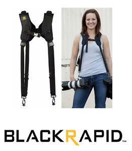 BlackRapid-RSD-1BB-Sling-Camera-Strap-DOUBLE-Ballistic-Nylon-Black