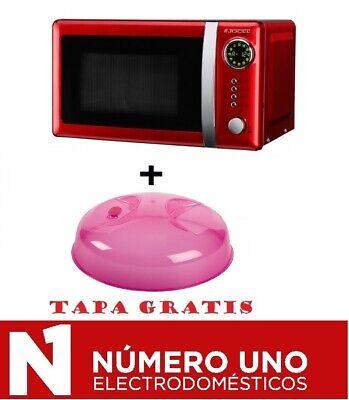 Microondas Jocel JMO001344, ROJO, 20 Litros