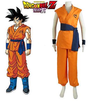 Dragon Ball Z Resurrection'F'Son Goku Kakarotto Super Saiyan God Cosplay Costume - Dragon Ball Z Saiyan Costume