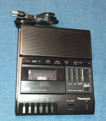 Panasonic Rr-830 Vsc Cassette Transcriber Player Recorder Works Properly