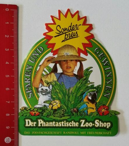 Aufkleber/Sticker: Der Phantastische Zoo-Shop Sparen und Gewinnen (040217102)