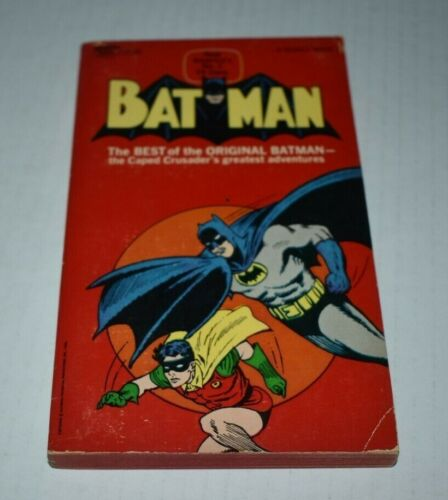 1966 BATMAN  paperback book  1st print