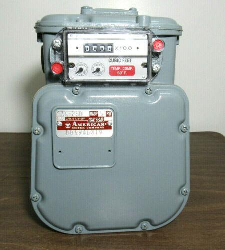 """AMERICAN METER AM-250 3/4"""" DIAPHRAGM GAS METER"""