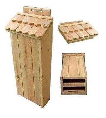 Ark Workshop SHAKER Shingled Bat House cedar ...