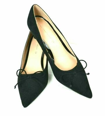 NEW ZARA TRAFALUC BLACK LEATHER GENUINE SUEDE SHOES SIZE 8 M 39 for sale  Shipping to Nigeria
