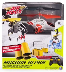 Air Hogs Mission Alpha Ultimate RC Helicopter