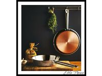 Two piece frying pan set