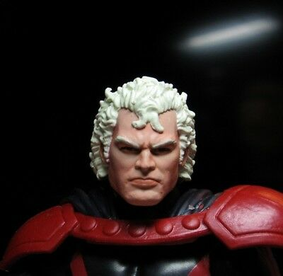HEAD ONLY Marvel Legends Custom painted Head Xmen Magneto