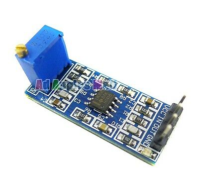 LM358 GAIN SIGNAL AMPLIFICATION MODULE OPERATIONAL AMPLIFIER ENHANCE UP TO 100