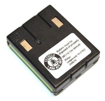 Philips SJB1132 3.6V 600mAh Battery Pack for Vtech BT-999 BP-T23 Cordless Phone