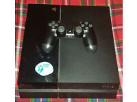 PS4 Console 500 GB Jet Black w/ 25 Games (Cash or Swap)