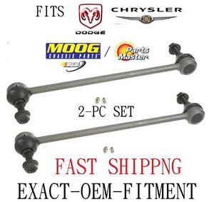 GRAND CARAVAN VOYAGER TOWN COUNTRY 2-PC SWAY BAR LINK KIT LEFT & RIGHT  OE-FIT