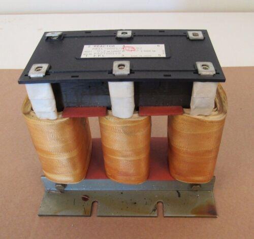 FANUC REACTOR A81L-0001-0124-02 TRANSFORMER