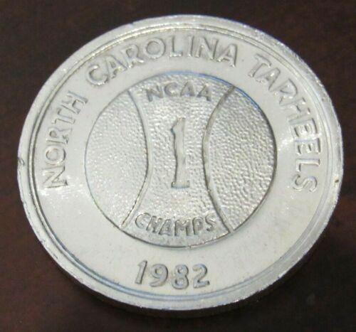 1982 North Carolina Tarheels NCAA Champs 1 Troy Oz. .999 Fine Silver Round - NC