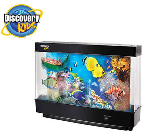 Lamp discovery kids animated marine lamp fish tank for Fish tanks for kids
