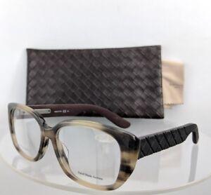 Brand New Authentic Bottega Veneta Eyeglasses B.V. 310/F UJK Ivory Black Brown