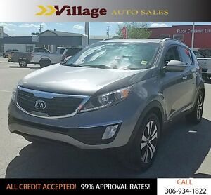 2013 Kia Sportage EX All Wheel Drive, Hands Free Calling, Blu...