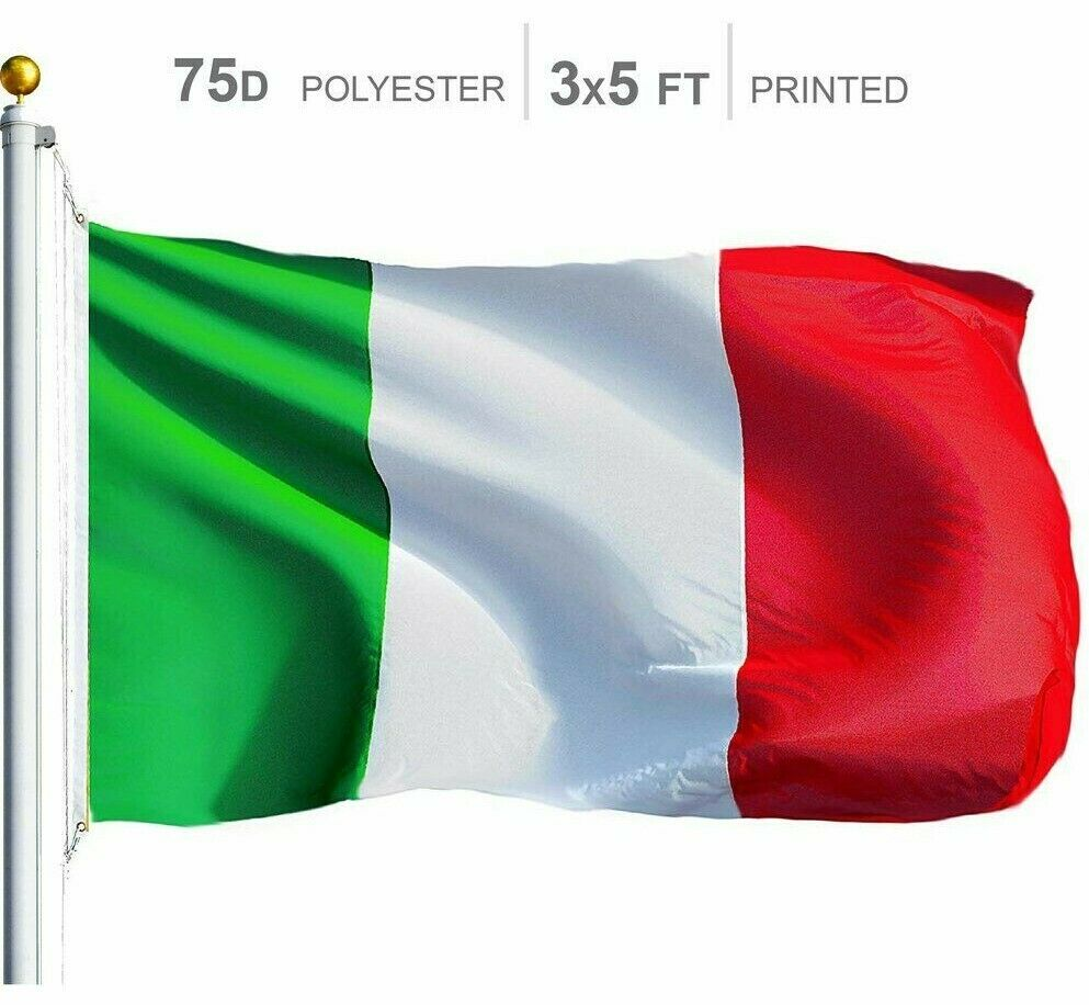 3x5 ft Italy Flag Italian Banner Country Pennant New Indoor