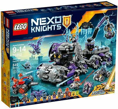 LEGO NEXO KNIGHTS Jestro's Headquarters 70352 Retired Product *NEW* Never Opened