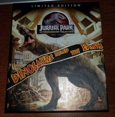 JURASSIC PARK 4K ULTRA HD DIGI-BOOK 8 DISC 25th anniversary NO DIGITAL