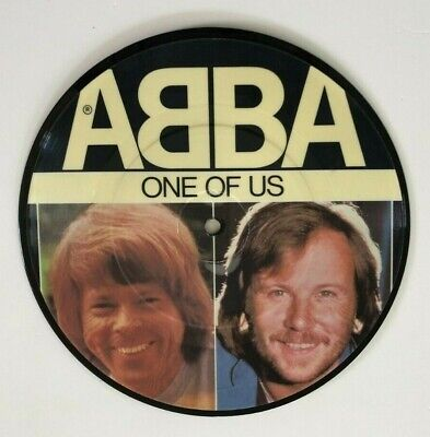 "7"" 45 RPM Picture Disc ABBA One of Us / Should I Laugh Or Cry EPIC EPCA11-1740"