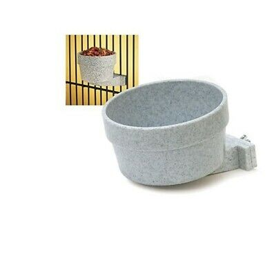 Dog Carrier Cage Crock - Quick Lock Crock for Dogs - 10 oz - crocks attach to the cage crate & carrier