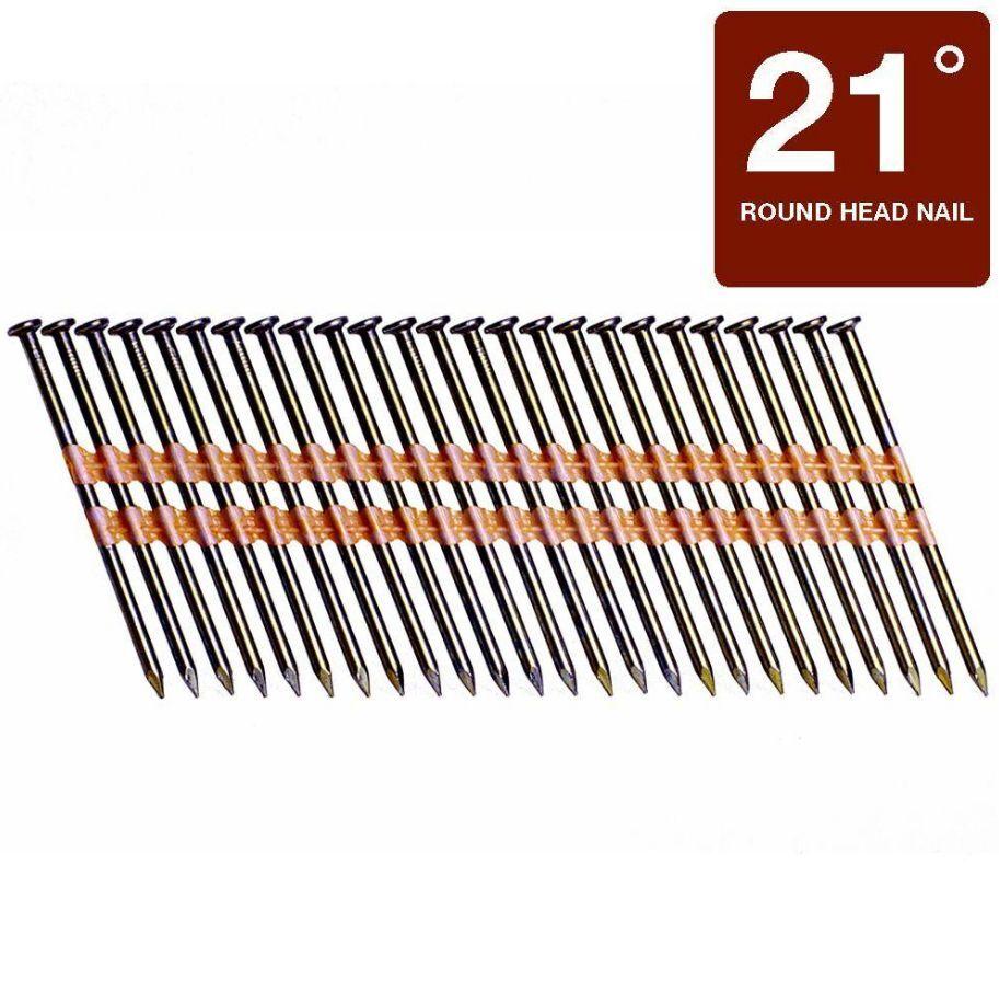Grip-Rite GR024 Round Head 3-1/4-Inch-by-.131-Inch-by-21-Deg