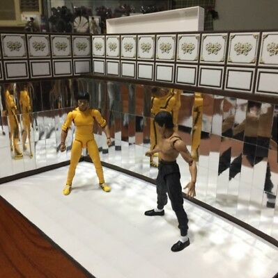 HP-MRA: FIGLot Paper-craft Diorama - Mirror Rooma A for SHF Bruce Lee Figure